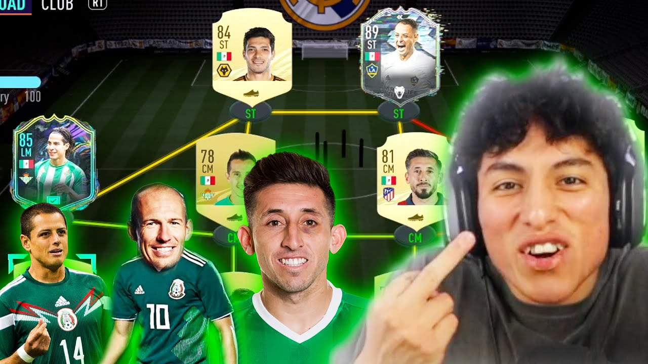 FUTCHAMPS WITH A FULL MEXICAN SQUAD!  (FIFA 21)