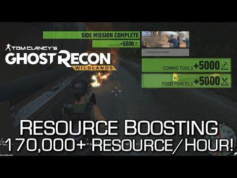 Ghost Recon Wildlands - Resource Farming / Convoy Boosting Method - 150,000+ Resources/Hour!
