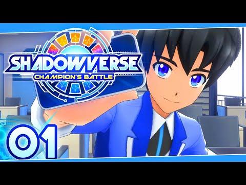 Shadowverse Champions Battle Part 1 A NEW CARD GAME & SCHOOL FULL GAME ENGLISH Gameplay Walkthrough