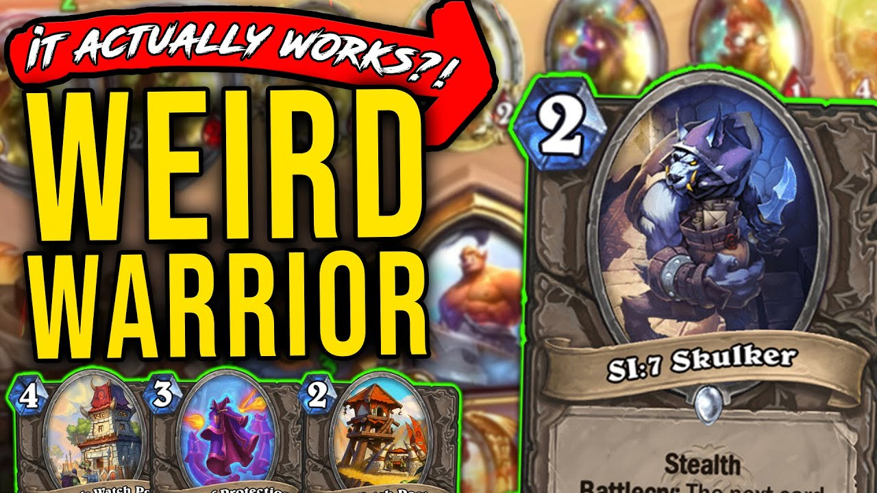 A New Warrior Deck that Somehow Works - Stormwind - Hearthstone
