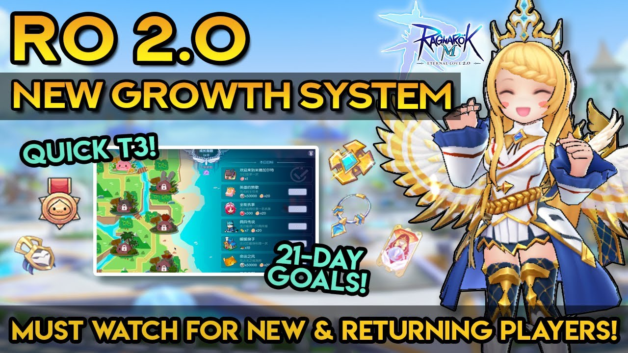 RO 2.0: NEW GROWTH SYSTEM! EASY GUIDE FOR NEW & RETURNING PLAYERS!!