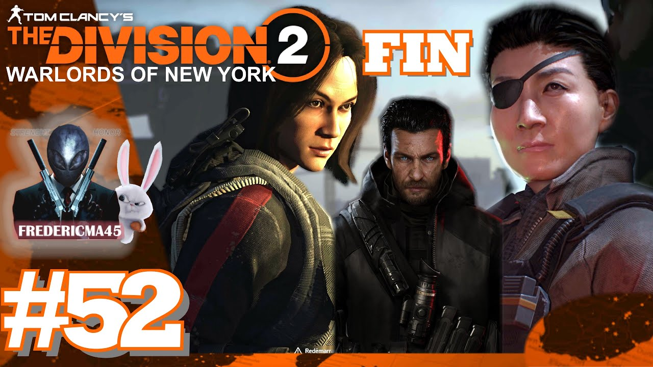 THE DIVISION 2: Liberty Island - Aaron Keener Boss FIN WARLORDS OF NEW YORK #52