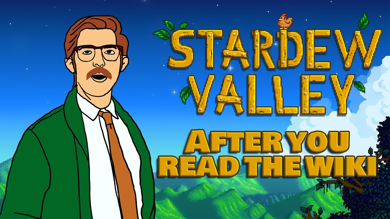 Stardew Valley After You Read the Wiki | Animation