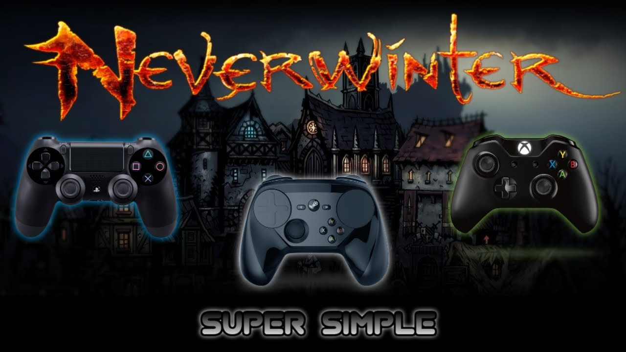 How To Use ANY CONTROLLER on Neverwinter PC! Xbox, Playstation, Steam