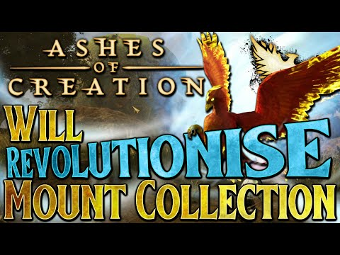 Ashes of Creation Will Change Mount Collection Forever