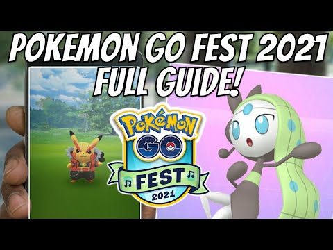 Pokemon Go Fest 2021 Guide! Is it Worth Purchasing?
