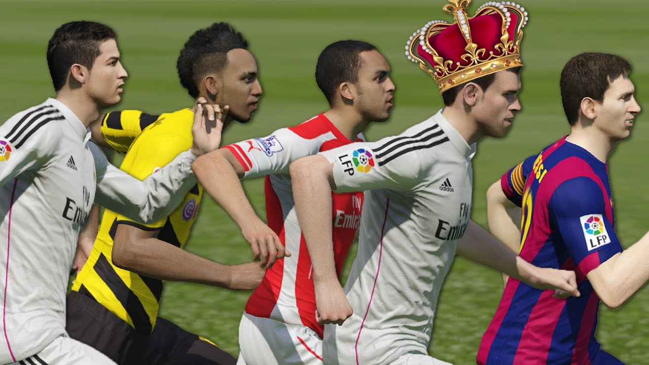 FIFA 15 Speed Test   Fastest players in FIFA