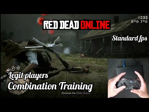 Red dead online legit players movement and pvp training