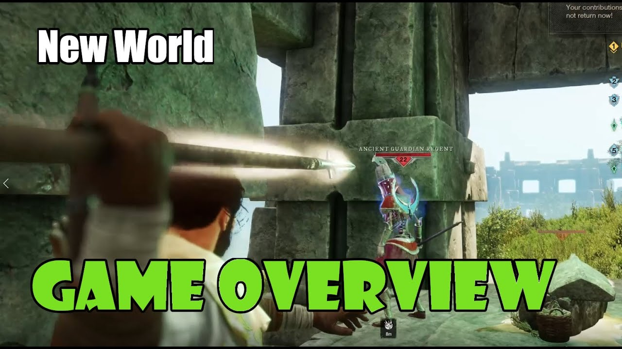 [New World] Game Systems Overview and First Impression of Amazon's New MMORPG!