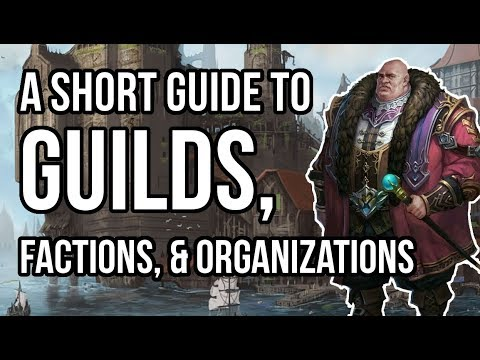 Guide to Creating Guilds