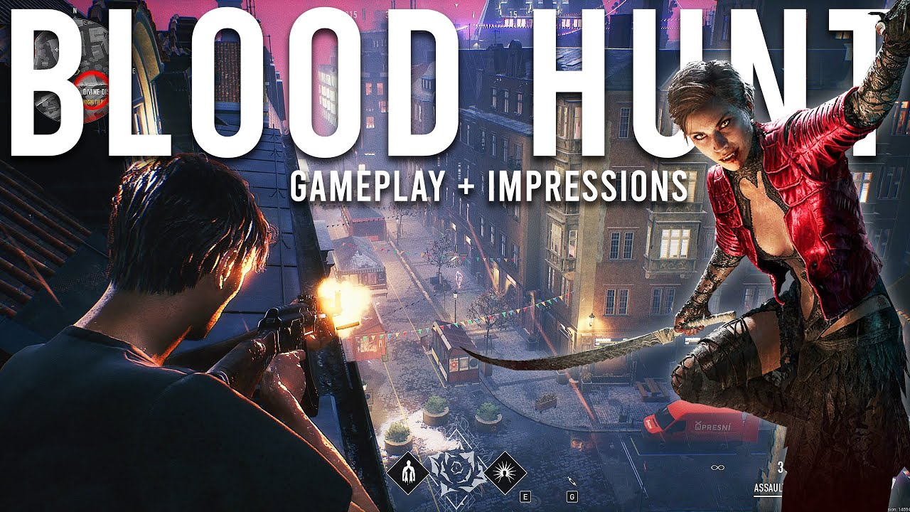 Bloodhunt Gameplay and Impressions - NEW Battle Royale!